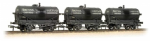 37-672 Bachmann Branchline Triple Pack 14 Ton Tank Wagons 'British Tar' Weathered